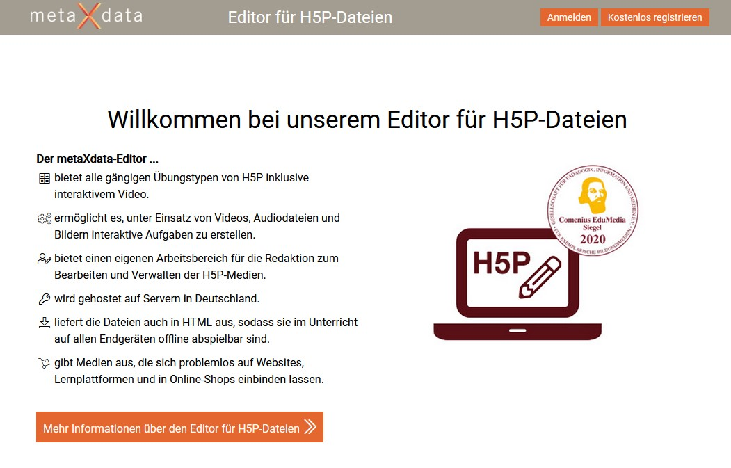 H5P-Editor